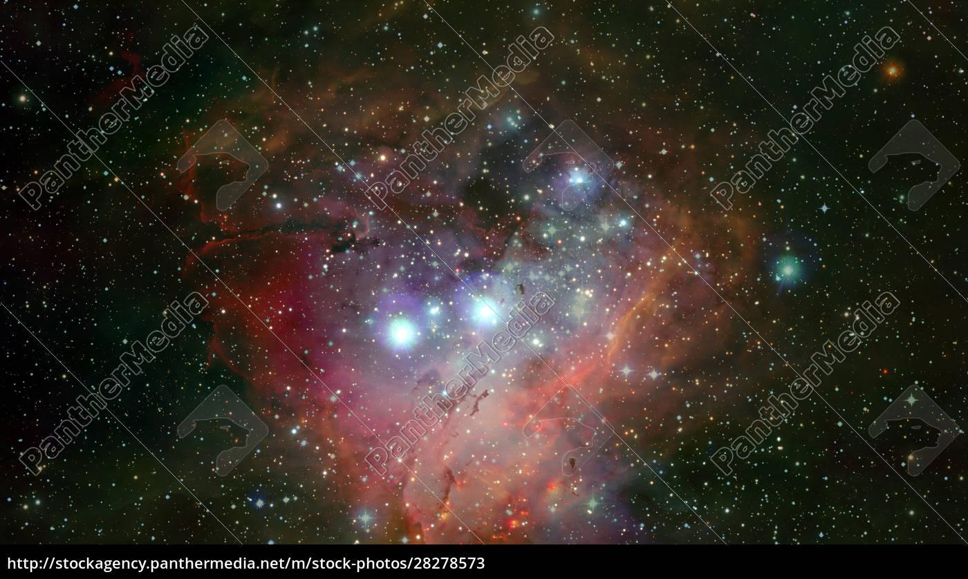 pleiades, in, a, dark, night, sky. - 28278573