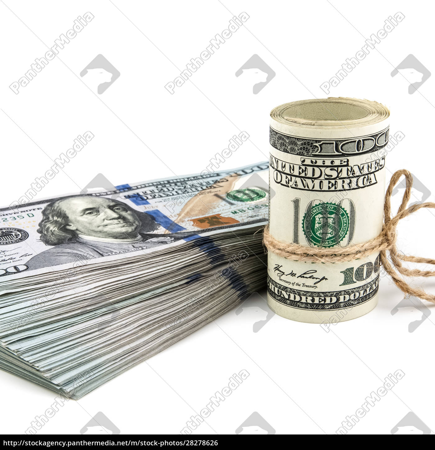 roll, and, wad, of, dollars, on - 28278626