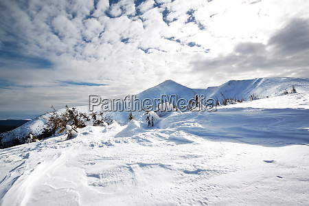snow-covered, mountain, peak - 28278766