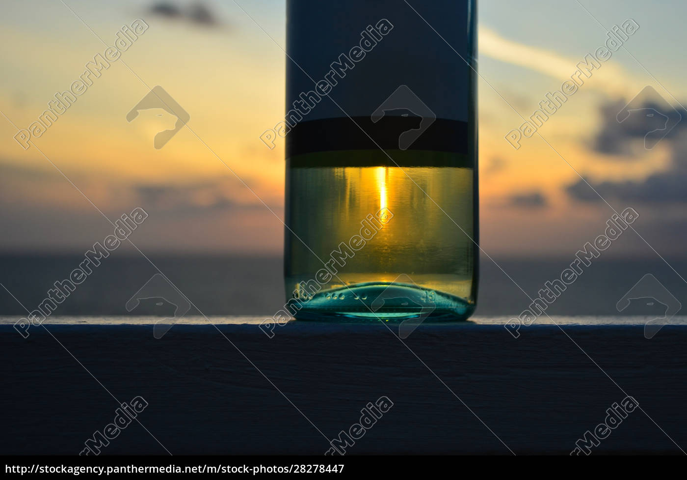 the, bottle, of, white, wine, with - 28278447