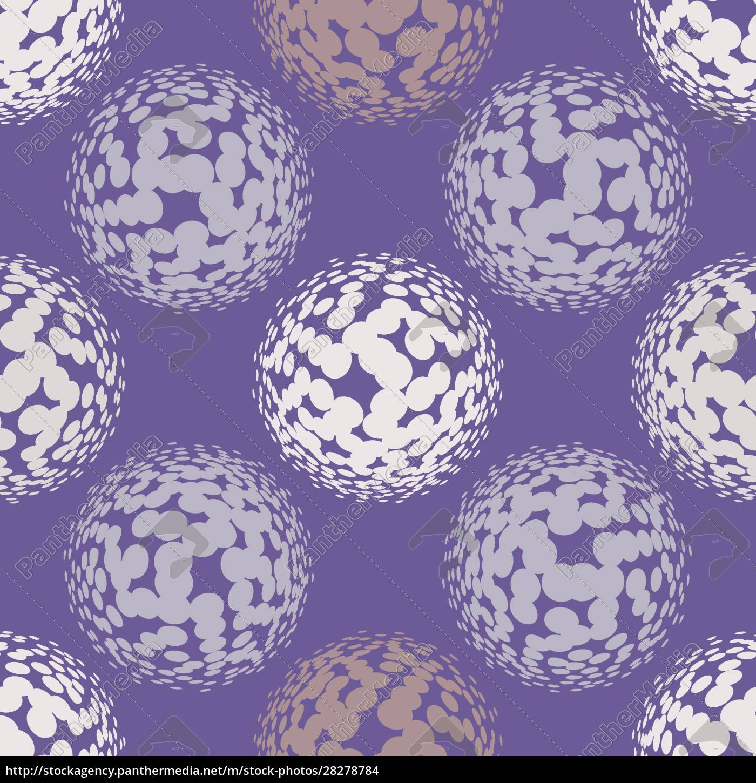 ultra, violet, halftone, circles, seamless, pattern. - 28278784