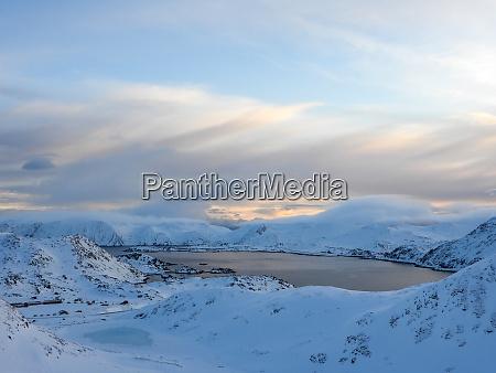 nordkapp in winter norway