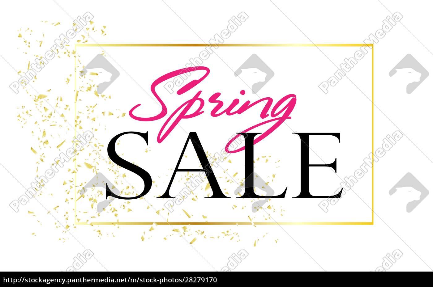big, sale., spring, discounts., the, inscription - 28279170