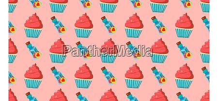 children, s, seamless, pattern, for, girls. - 28279253