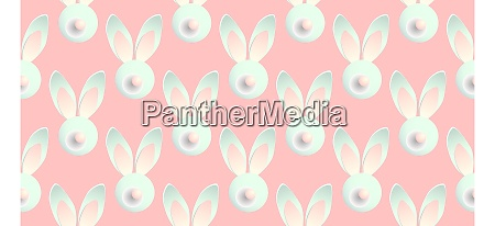 easter, background, horizontal, banner., seamless, pattern. - 28279811
