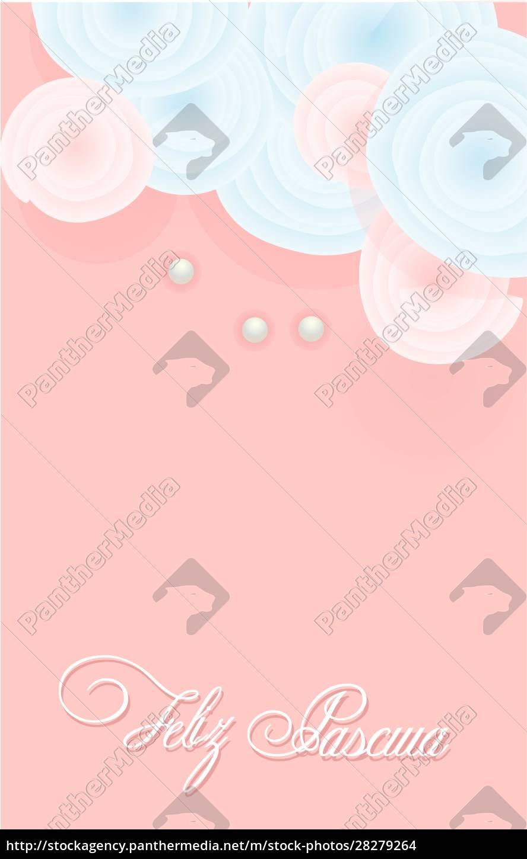 easter, card., easter, sunday., tender, background - 28279264