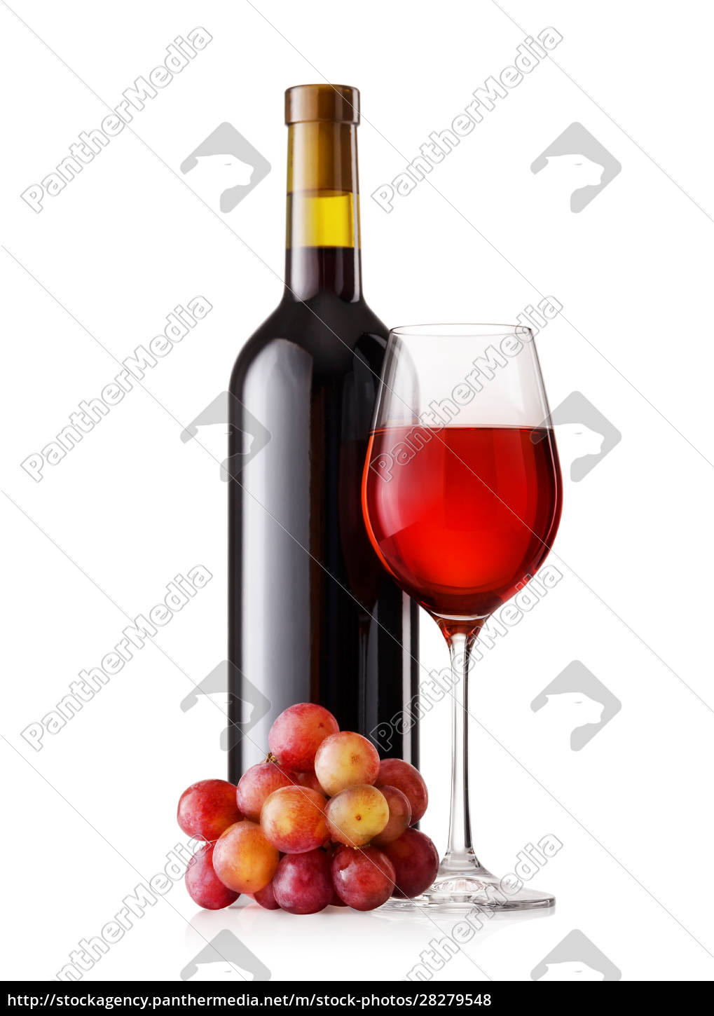 glass, and, bottle, of, red, wine - 28279548