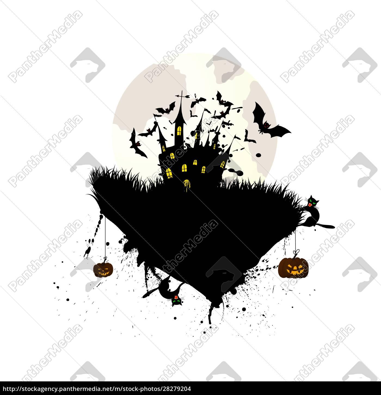 halloween, greeting, card - 28279204
