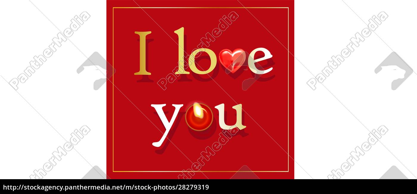 i, love, you., text, or, inscription - 28279319