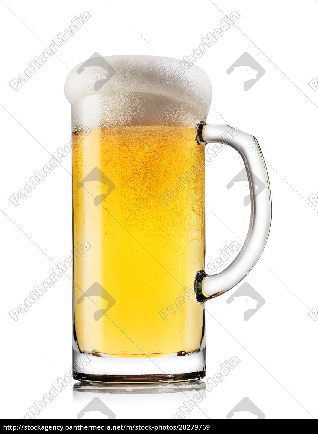 light, beer, with, the, foam, in - 28279769