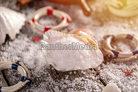 luxurious, sea, salt, flakes - 28279155