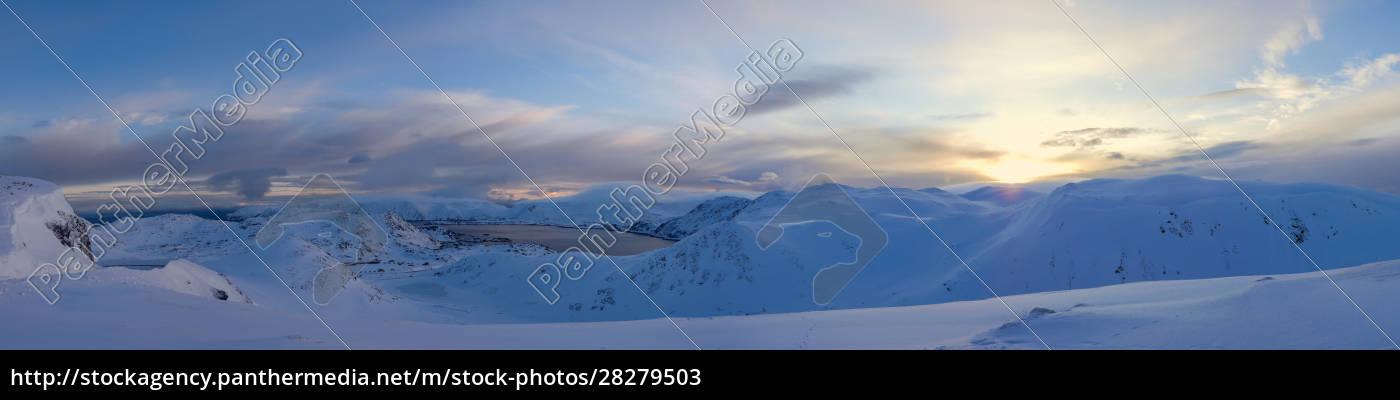 nordkapp, in, winter, , norway - 28279503