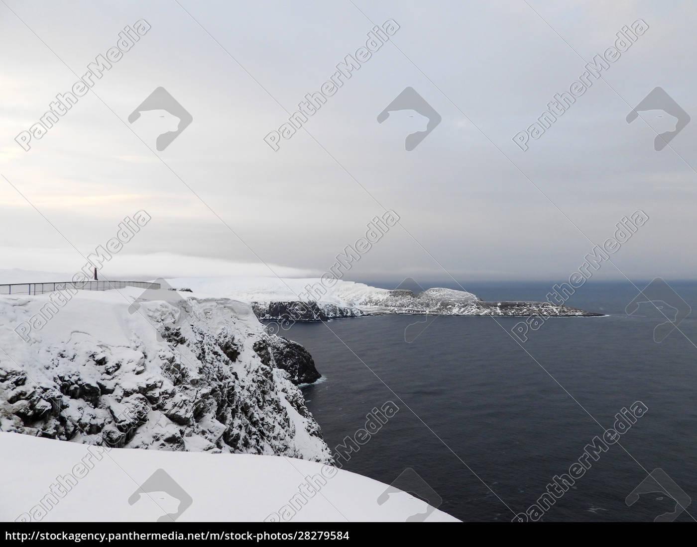 nordkapp, in, winter, , norway - 28279584