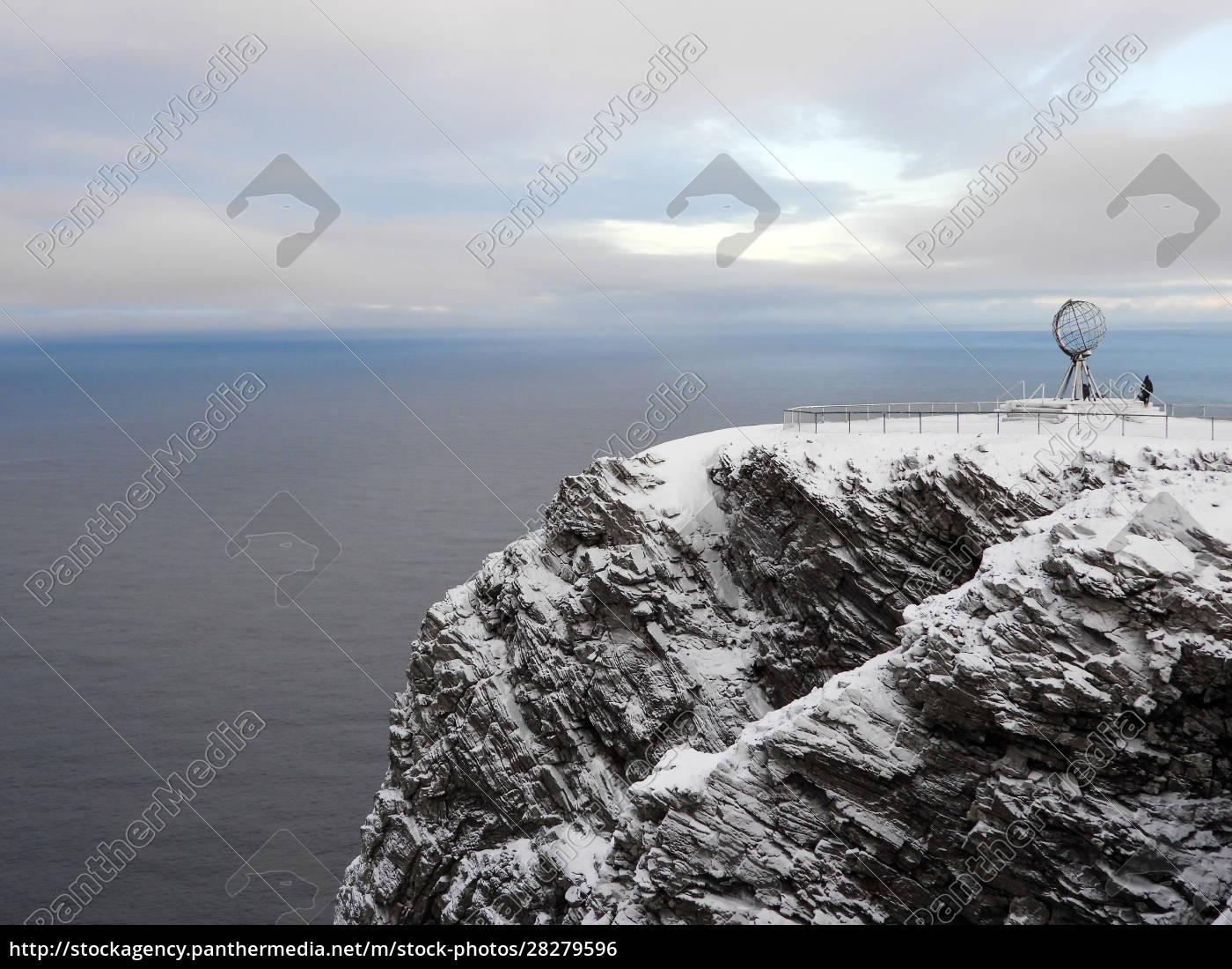 nordkapp, in, winter, , norway - 28279596