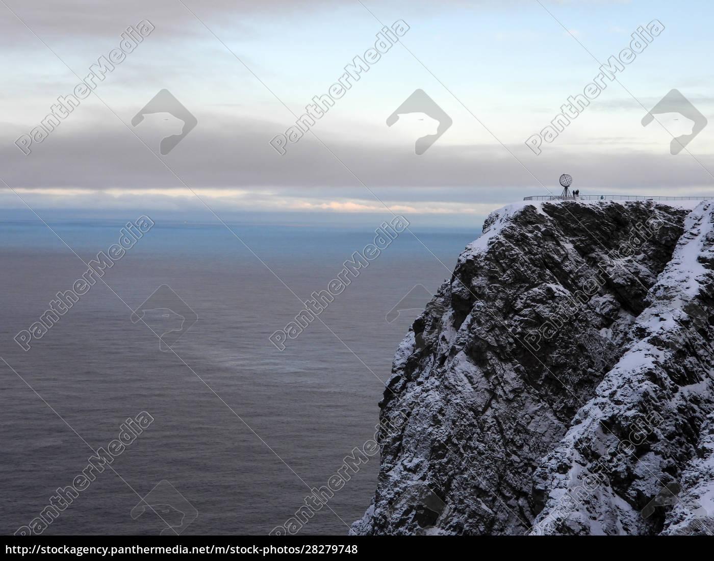nordkapp, in, winter, , norway - 28279748