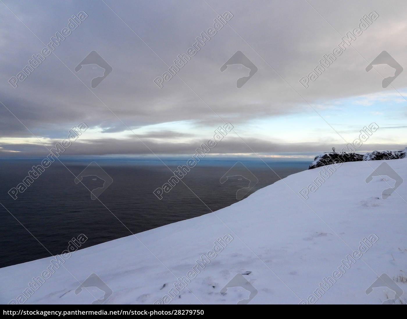 nordkapp, in, winter, , norway - 28279750