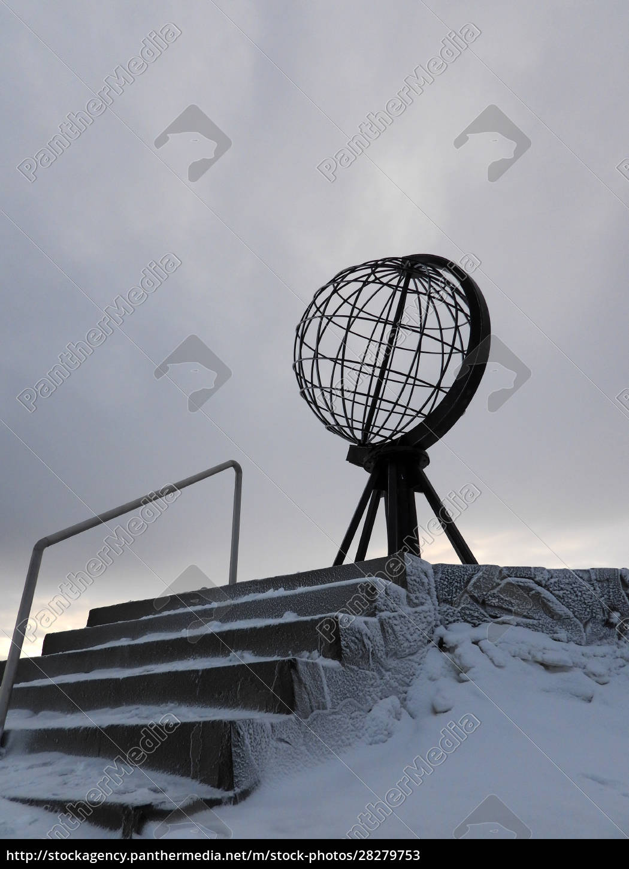 nordkapp, in, winter, , norway - 28279753