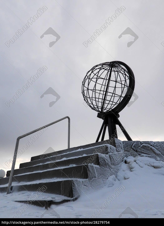 nordkapp, in, winter, , norway - 28279754