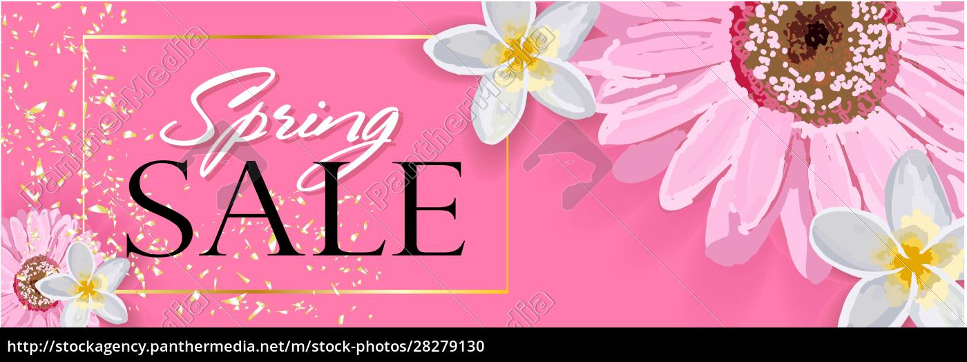 spring, sale, background, with, a, beautiful - 28279130