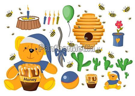 sticker, set, winnie, the, pooh., toys - 28279313