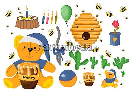sticker, set, winnie, the, pooh., toys - 28279315