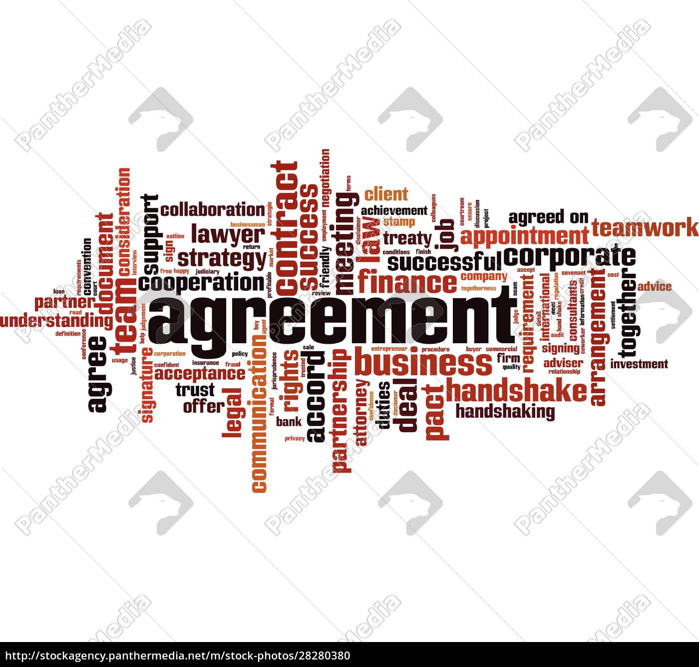 agreement, word, cloud - 28280380