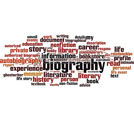 biography, word, cloud - 28280424