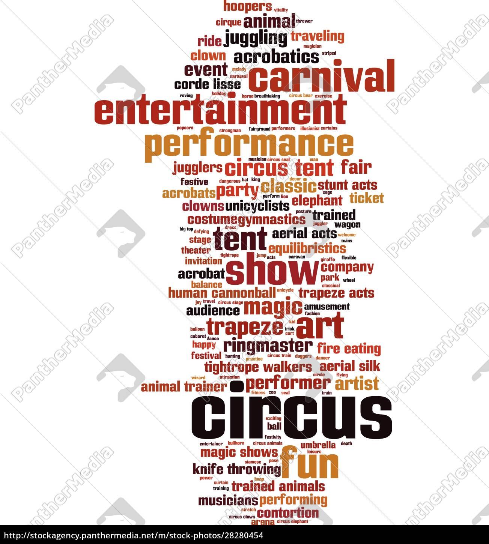 circus, word, cloud - 28280454