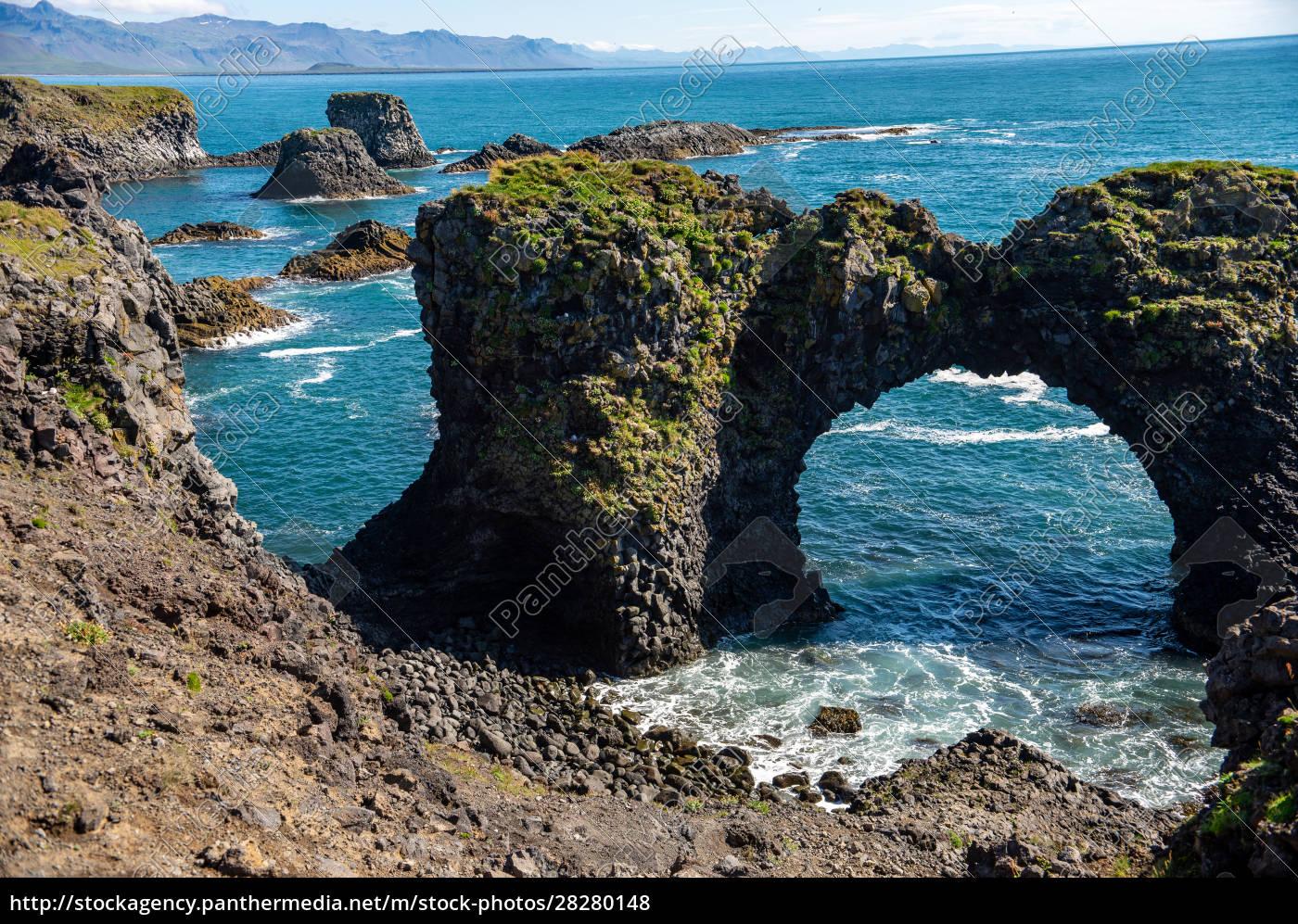 gatklettur, -, arch, rock, -, cliff - 28280148