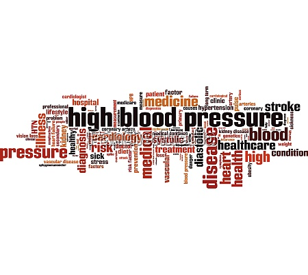 high, blood, pressure, word, cloud - 28280478