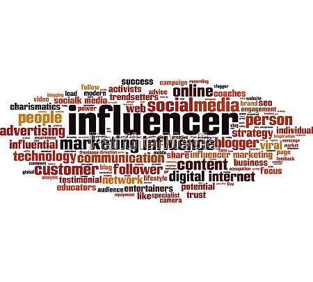 influencer, word, cloud - 28280515