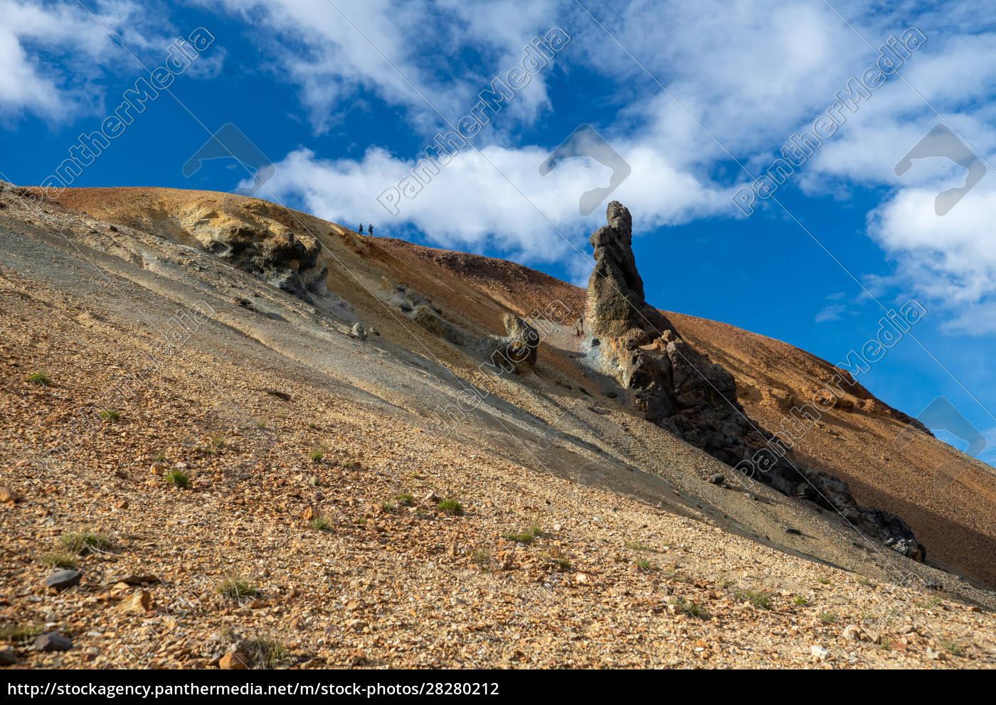 volcanic, mountains, of, landmannalaugar, in, fjallabak - 28280212
