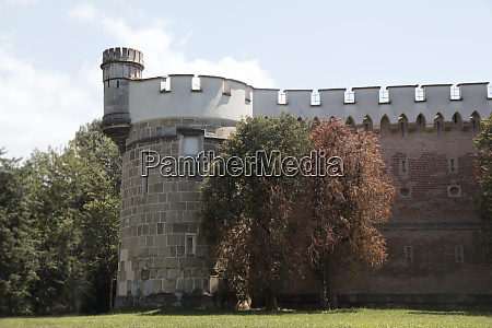 laxenburg castle by the lake in