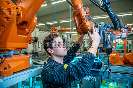 modification of the robot to produce