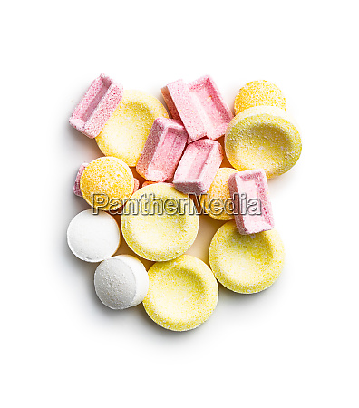 colorful hard candies