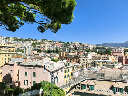 the center of genova ligurian