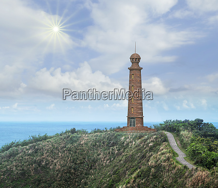 3d rendering of beautiful light house