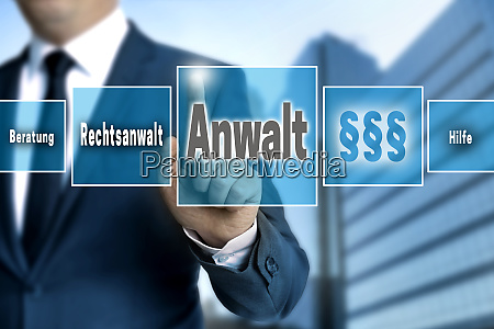 anwalt in german lawyer help advice