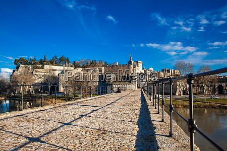 famous avignon bridge also called pont