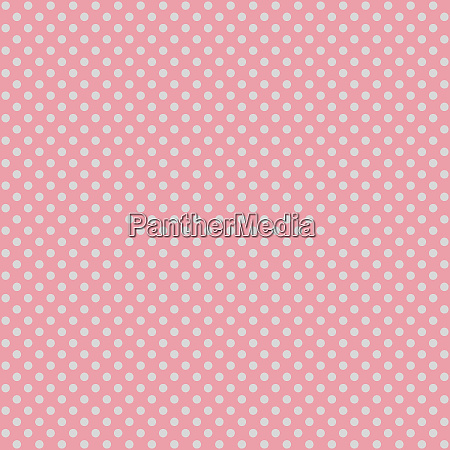 seamless pink polka dot fabric template