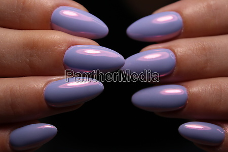 manicurist job done perfectly well the