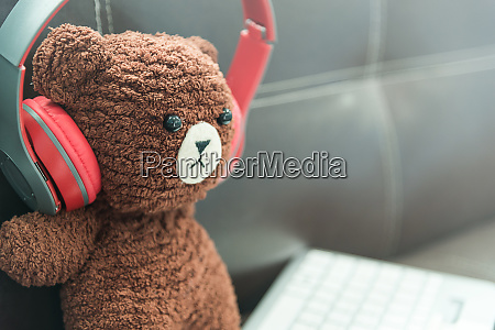 little toy bear crochet doll with