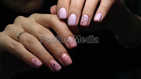 fashion nails manicure