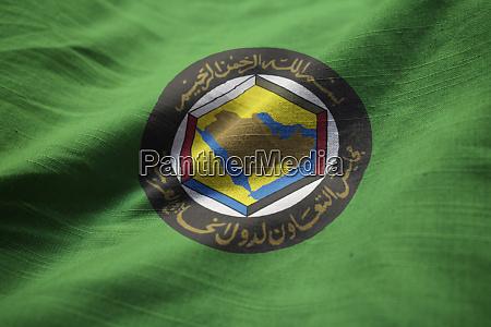 closeup of ruffled gulf cooperation council
