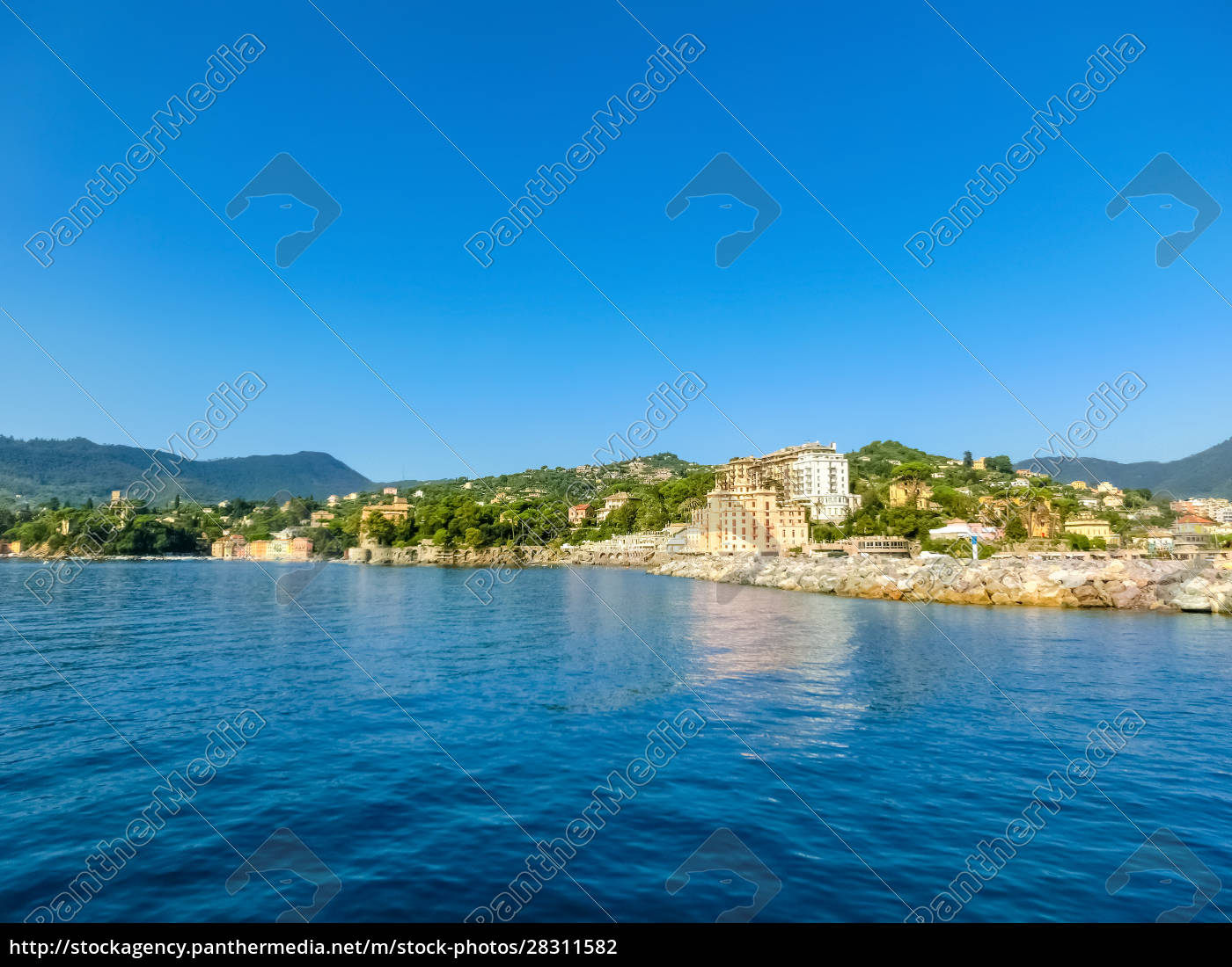 travel, view, of, town, rapallo, at - 28311582