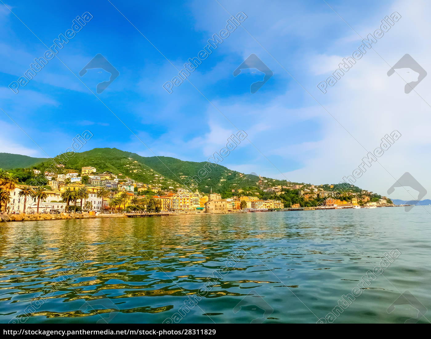 travel, view, of, town, rapallo, at - 28311829