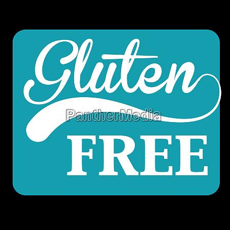 gluten free allergy health nutrition illustration