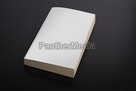 book mock up with blank cover