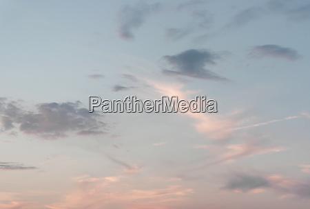evening beautiful sky