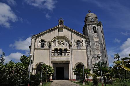 church of bilar on bohol in